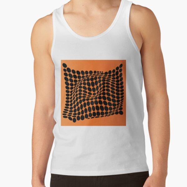 COME INSIDE (ORANGE) Camiseta de tirantes