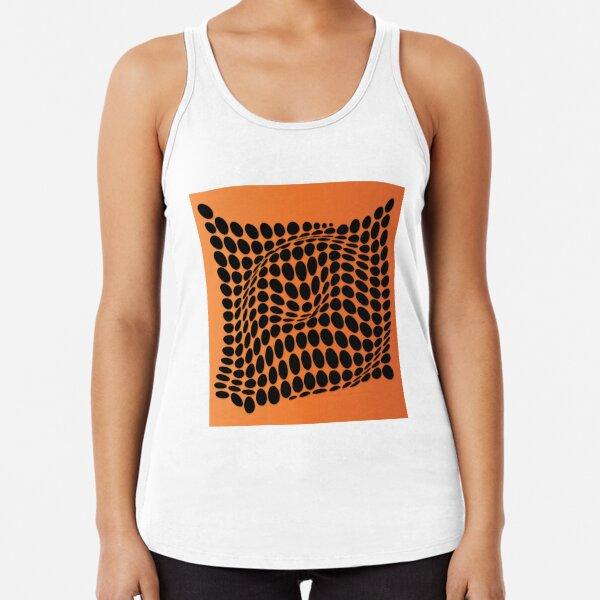 COME INSIDE (ORANGE) Camiseta con espalda nadadora