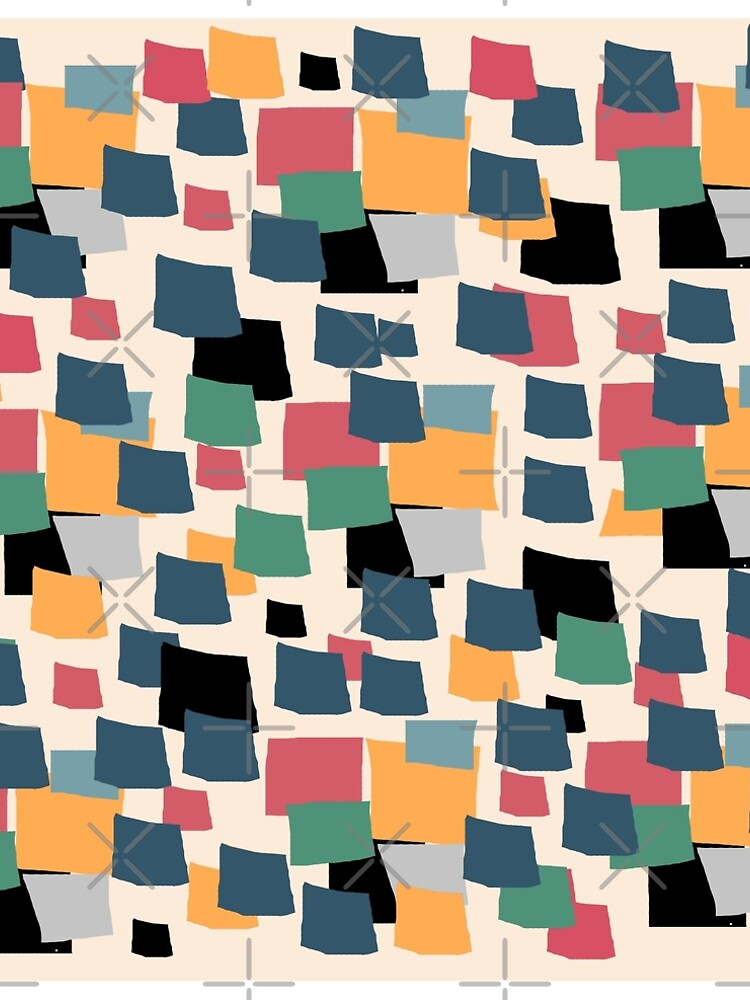 abstract colored squares by susana-art
