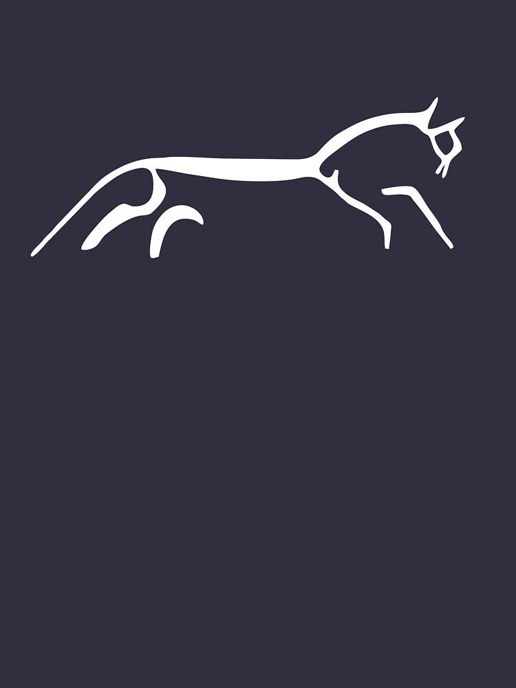 Uffington White Horse by mbalax