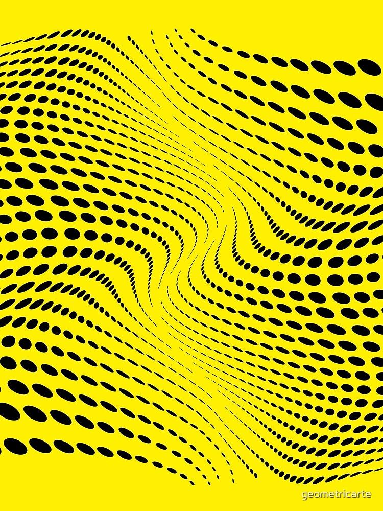 THE RIVER (YELLOW) de geometricarte