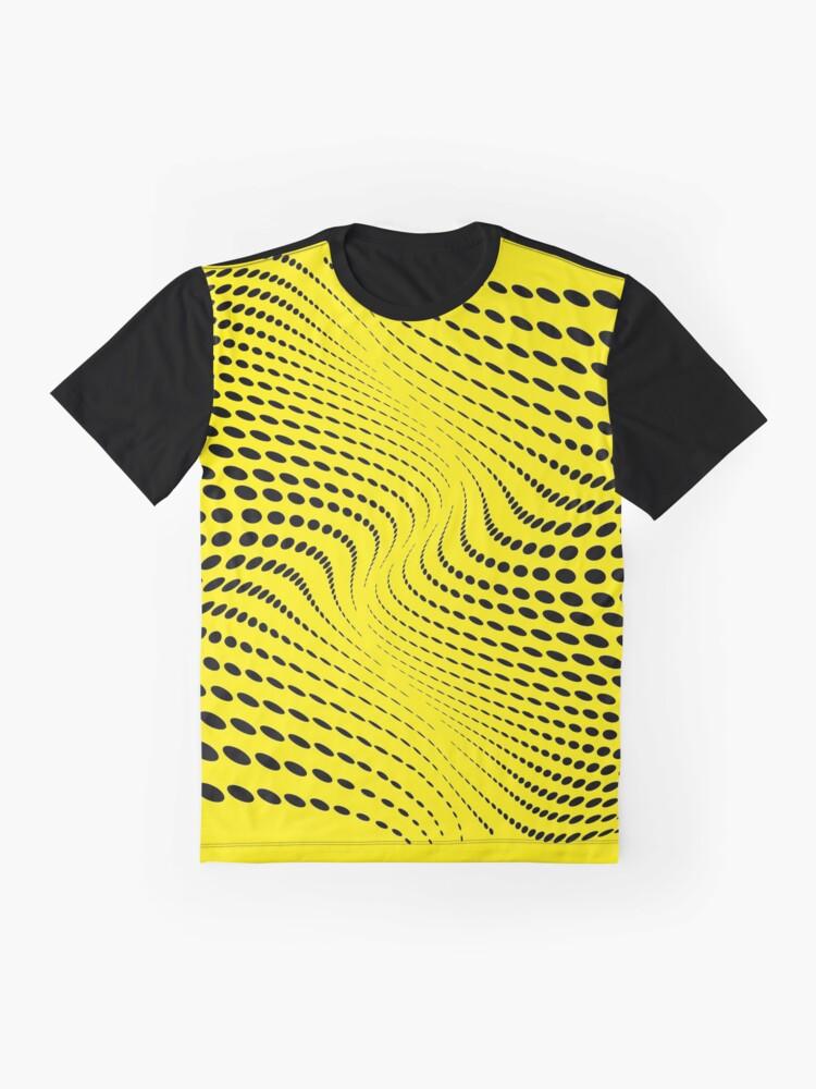 Vista alternativa de Camiseta gráfica THE RIVER (YELLOW)