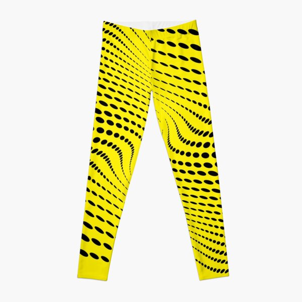 THE RIVER (YELLOW) Leggings