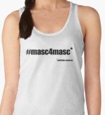 #masc4masc black text - Kylie Women's Tank Top