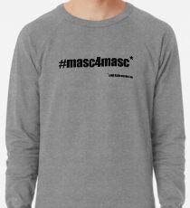 #masc4masc black text - Kylie Lightweight Sweatshirt