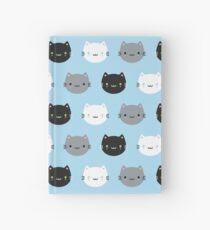 Cute Cats & Kawaii Kittens (Blue) Hardcover Journal