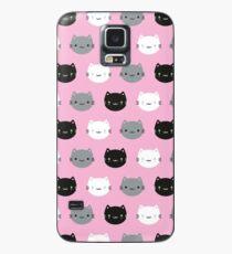 Cute Cats & Kawaii Kittens (Pink) Case/Skin for Samsung Galaxy