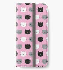 Cute Cats & Kawaii Kittens (Pink) iPhone Wallet/Case/Skin