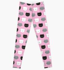Cute Cats & Kawaii Kittens (Pink) Leggings