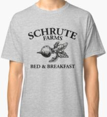 Schrute Farms - Bed and Breakfast - Logo - The Office Classic T-Shirt