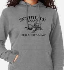 Schrute Farms - Bed and Breakfast - Logo - The Office Lightweight Hoodie
