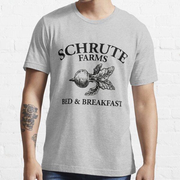 Fermes Schrute - Chambres d'hôtes - Logo - Le bureau T-shirt essentiel