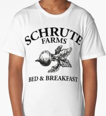 Schrute Farms - Bed and Breakfast - Logo - The Office Long T-Shirt