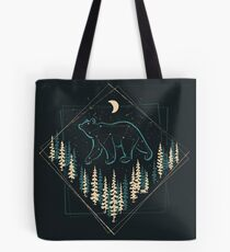 The Heaven's Wild Bear Tote Bag
