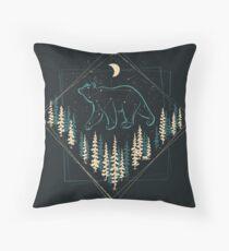 The Heaven's Wild Bear Floor Pillow