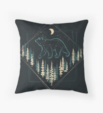 The Heaven's Wild Bear Floor Pillow