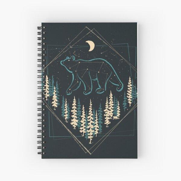 The Heaven's Wild Bear Spiral Notebook