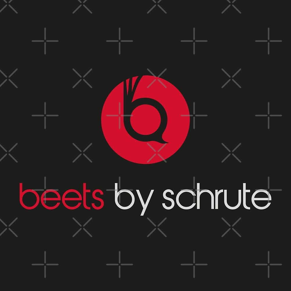 Beets By Schrute - Logo - The Office by mongolife