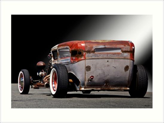 1932 Ford 'Lo Down and Dirty' Rat Sedan II by DaveKoontz