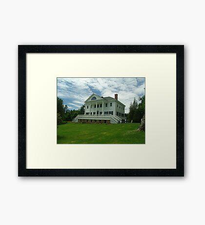 Uniacke House Framed Print