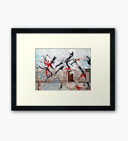 Street Art 19 Framed Print