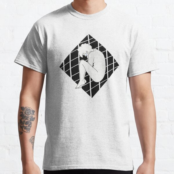 Get Back Up - A black and white illustration Classic T-Shirt