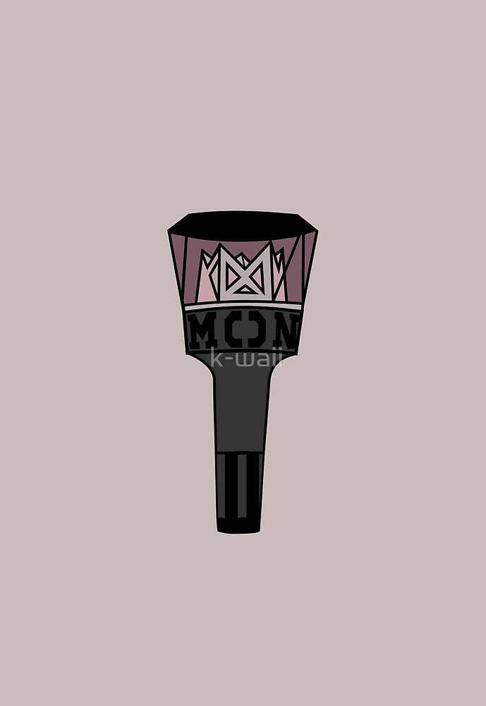 MONSTA X LIGHTSTICK  by k-waii