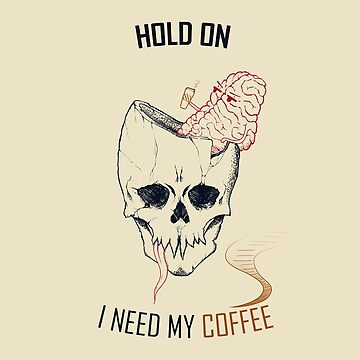hold on, i need my coffee (line art only version)  by m-ersan