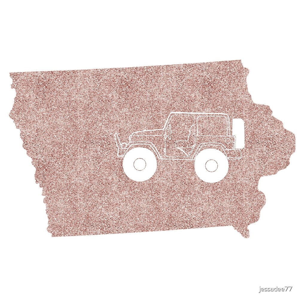 Jeep State IA Rose by jessadee77