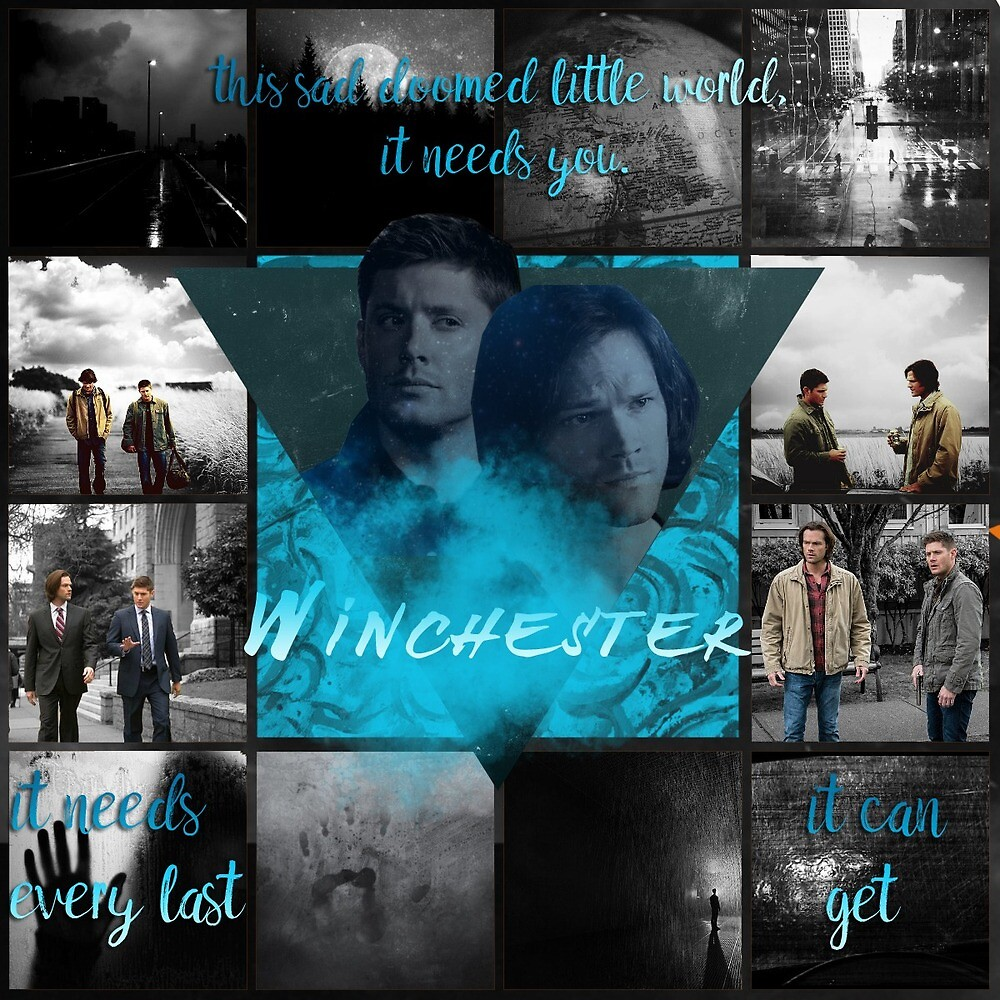 supernatural brothers quote by Karmenvvvu