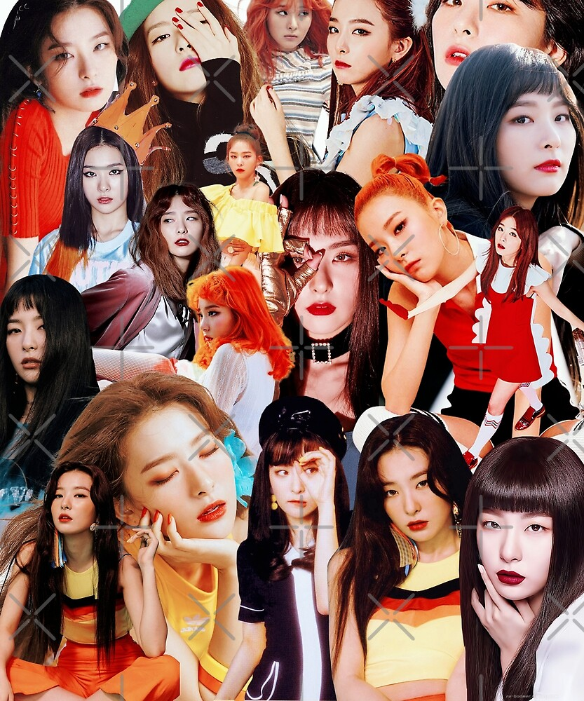 Seulgi Collage by BENWYATTS