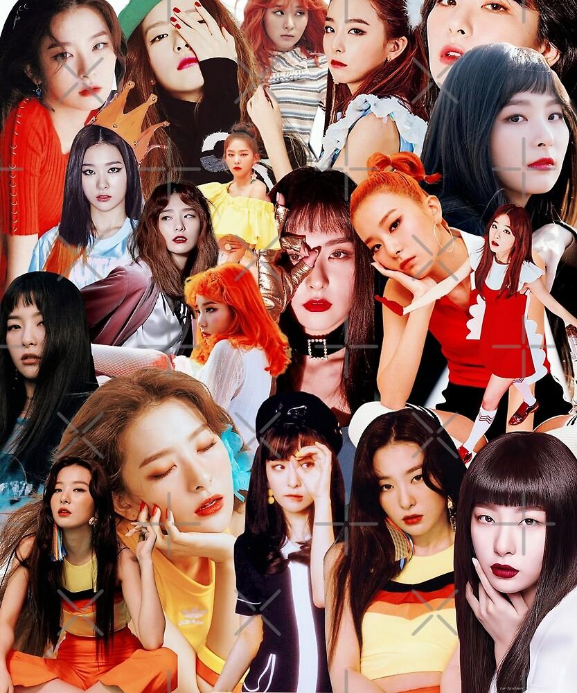 Seulgi Collage by BENWYATTS