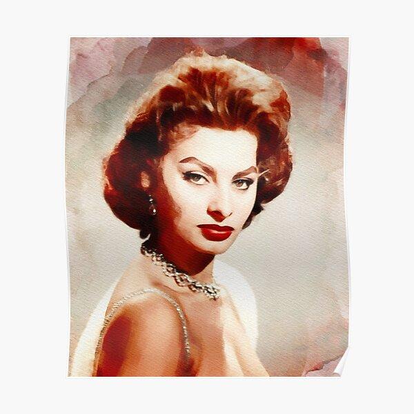 Retro Screen Goddess SOPHIE LOREN  1 Stiil Promo Poster ...Various Sizes