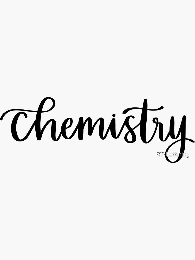 Quot Chemistry Folder Binder Sticker Quot Sticker By Rt
