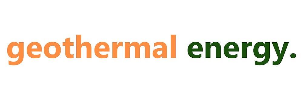 Geothermal Energy by brinkstock