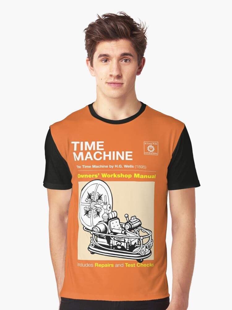 Owners Manual - HG Wells Time Machine II Graphic T-Shirt Front