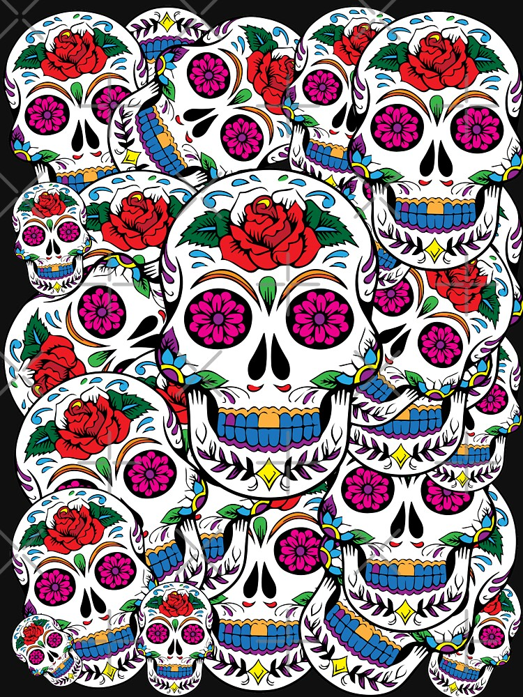 Sugar Skulls Galore by TheFlying6