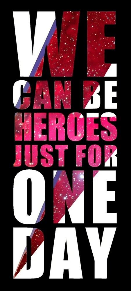 WE CAN BE HEROES by saramessias