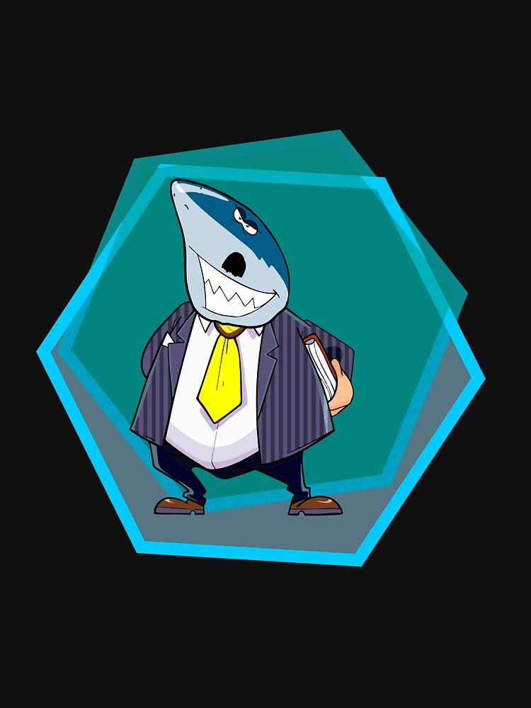 Shark Sir Funny Shark  by CreativeStrike