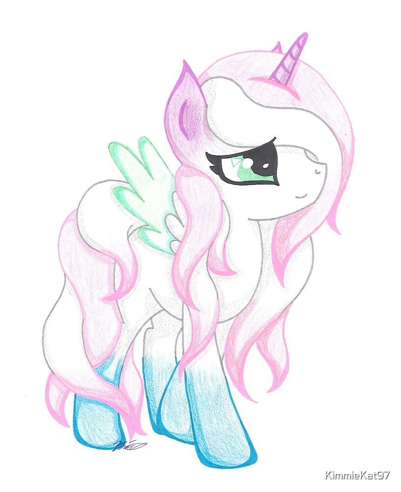 Pastel Pony by KimmieKat97