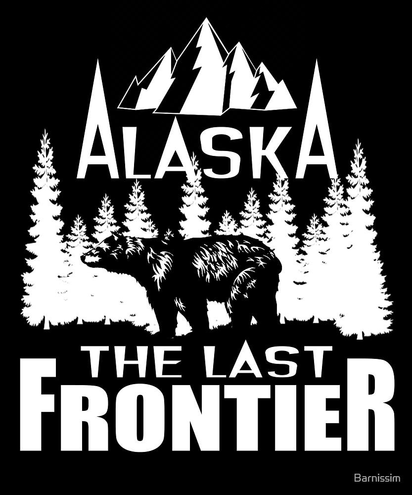 Alaska The Last Frontier Gift by Barnissim
