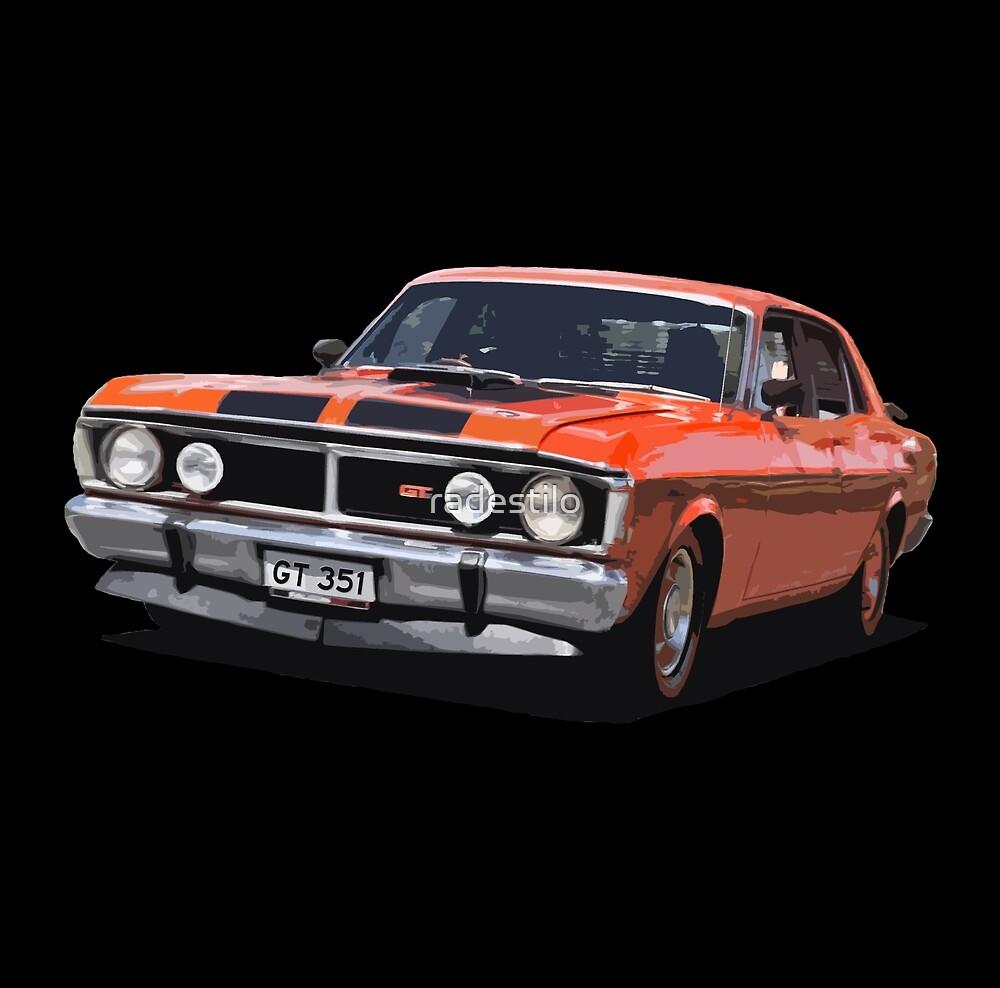 Red GT 351 by radestilo