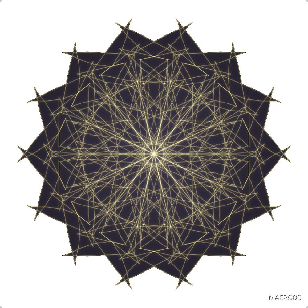Mandala Concentration by MAC2009