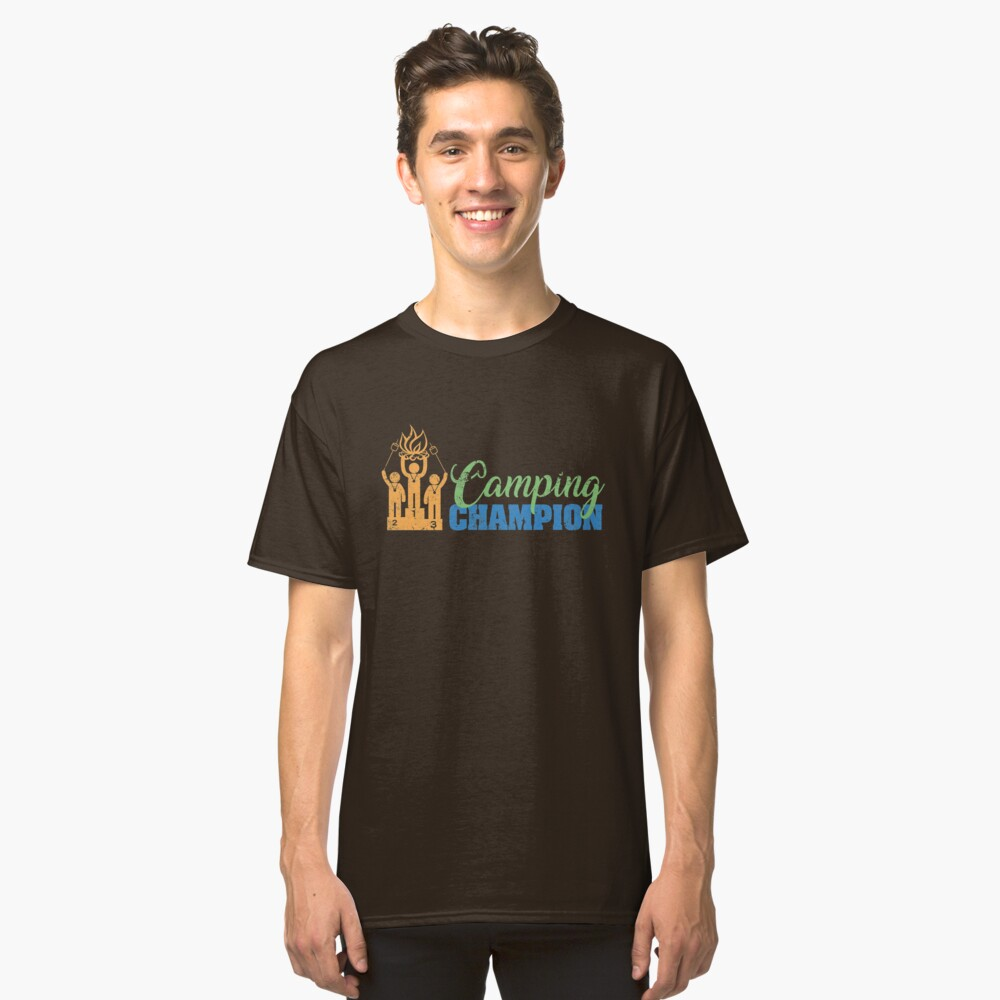 Camping Champion T-Shirt Classic T-Shirt Front