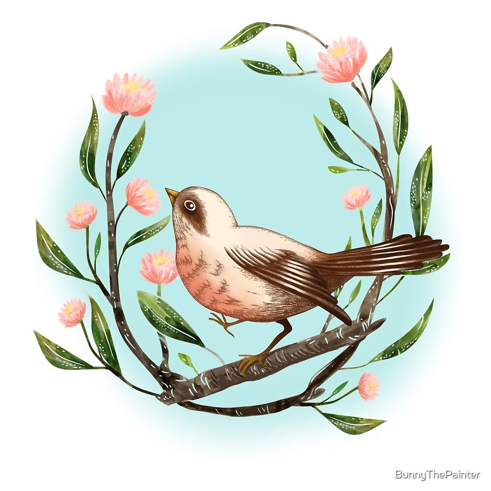 Spring Is Forever In My Heart Art Print by BunnyThePainter