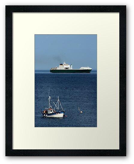 Big Boat, Little Boat by Martin Ingley