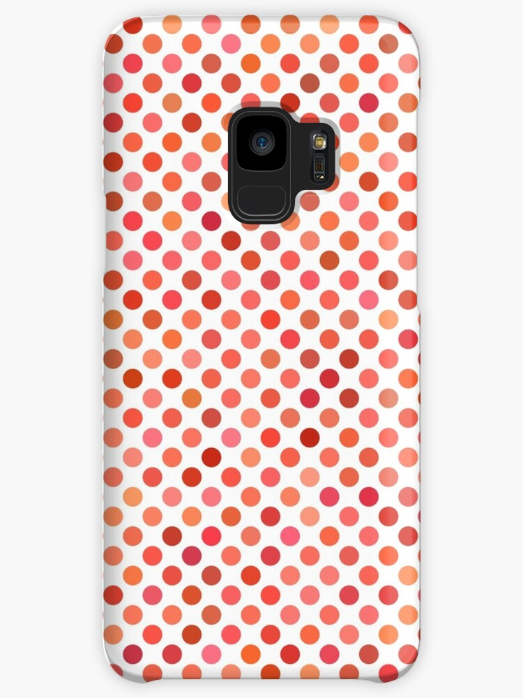 Red and Orange Sports Phone Case by webeller