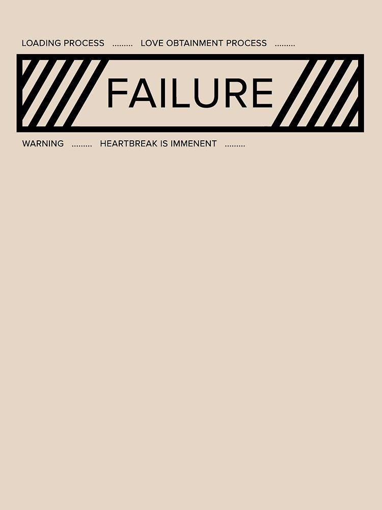 Funny Love Failure Alert by RayhanF
