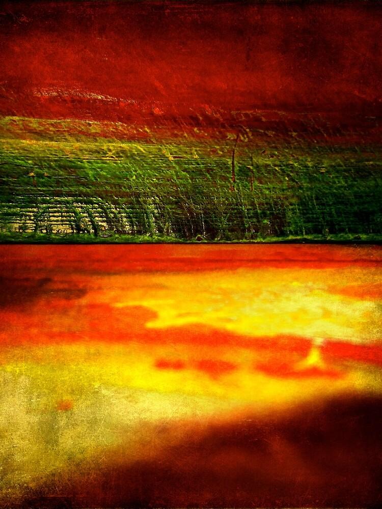 Horizontal Rainbow by Briandamage