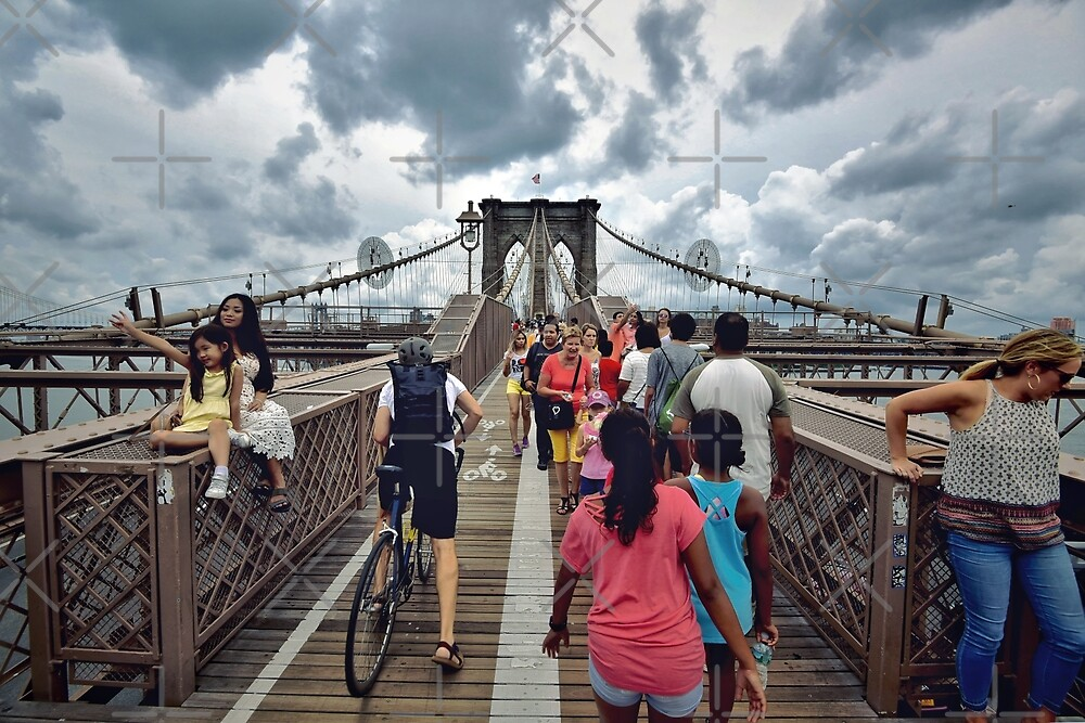 Crossing to Brooklyn by zouhair lhaloui